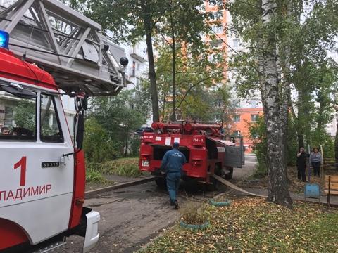 ВКоврове чудовищный пожар вобщежитии привел к смерти 2-х человек