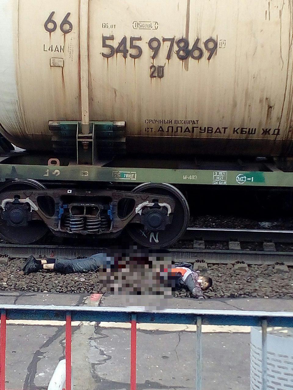 В казани молодой велосипедист попал под поезд
