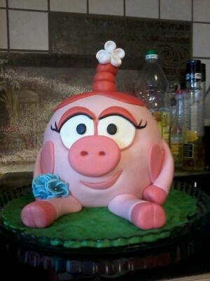 фото торт для девочки на 4 года