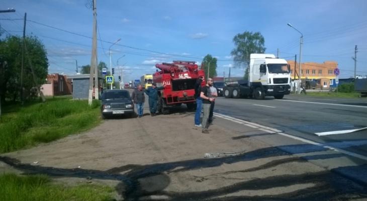 В Собинском районе в ДТП погибли двое (видео)