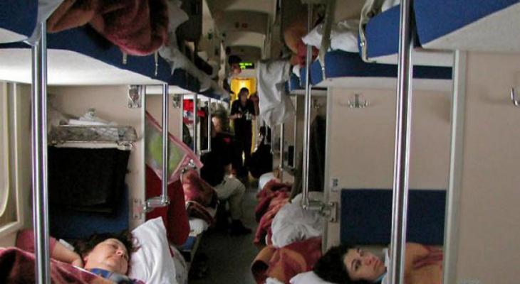 В Муроме с поезда сняли трех пассажиров, устроивших балаган в поезде