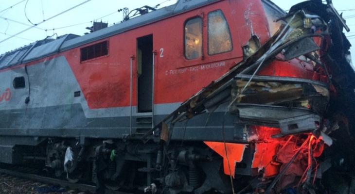 Тормозной путь поезда под Владимиром составил около 746 метров