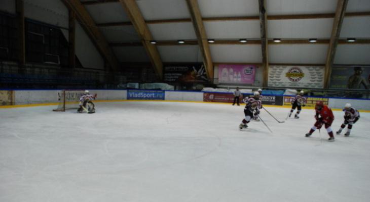 Хоккей в Полярисе: Звезды кино против Федерации хоккея Владимирской области