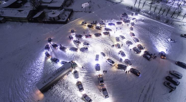 Ковровские автомобилисты собрали свою  автоелку