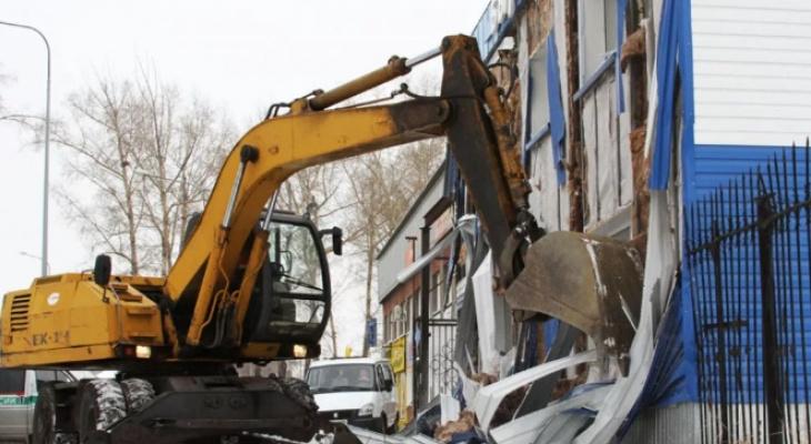 Гостиницу в центре Владимира пустили под снос