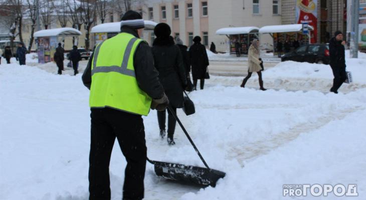 Владимирские улицы от снега чистит 71 дворник