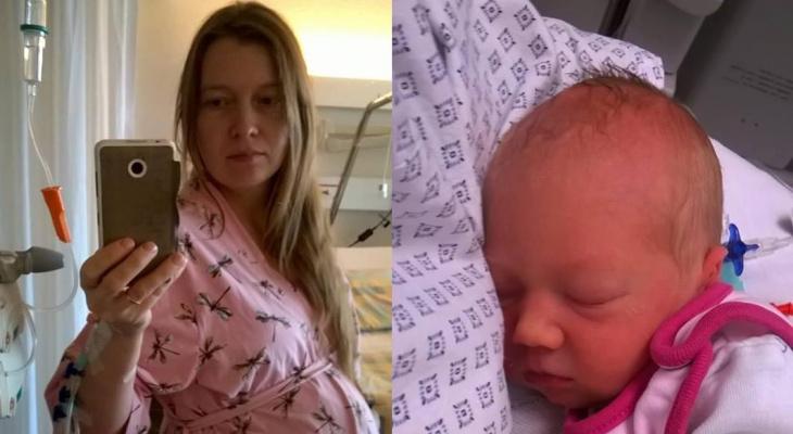 Жительница Владимира  родила здоровую девочку после внутриутробной операции