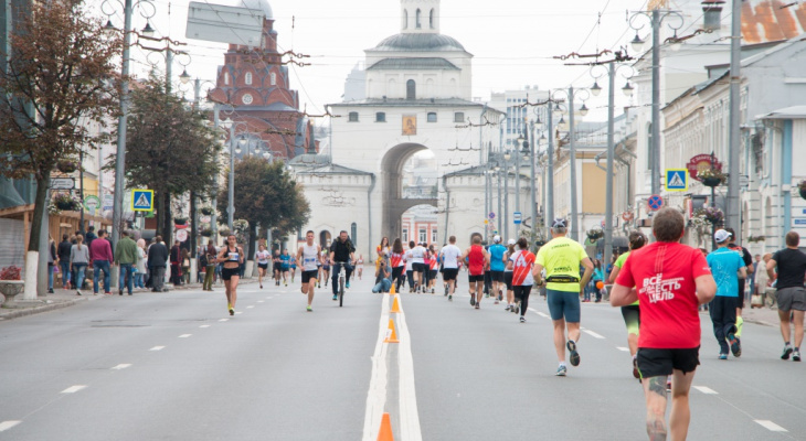 Горожанам предлагают принять участие во Владимирском полумарафоне