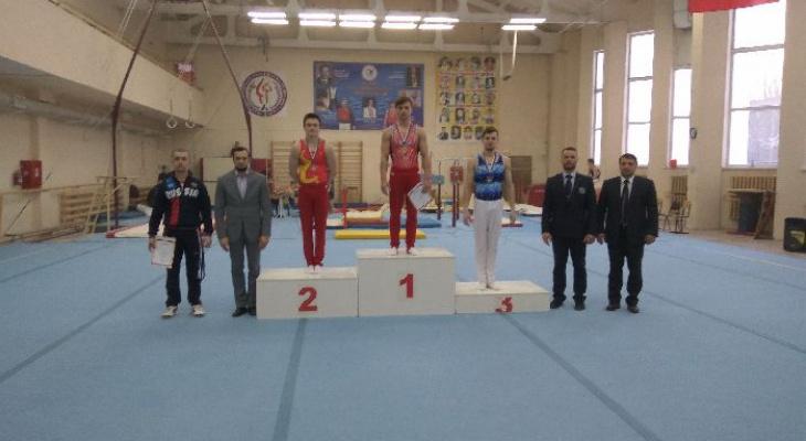 Владимирские гимнасты стали лучшими на чемпионате ЦФО