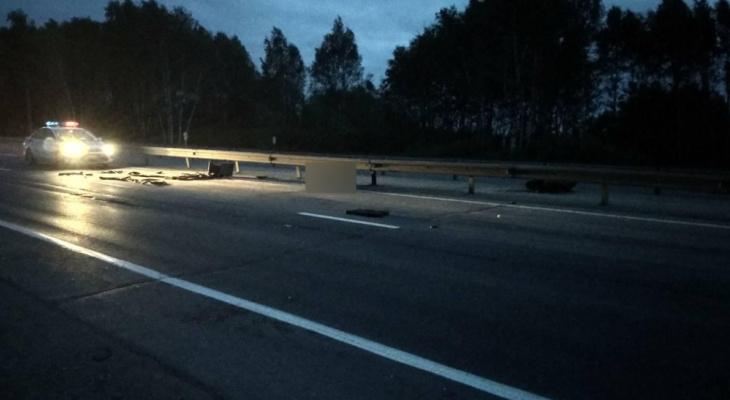 Ставровский мотоциклист погиб при столкновении с фурой