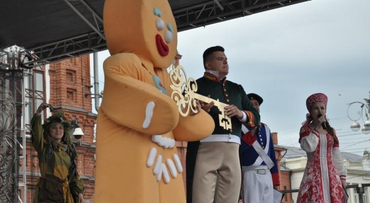 Владимирцы участвуют в межрегиональном фестивале «День пряника» (фото)