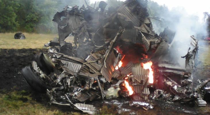 В 50 километрах от Мурома разбился перехватчик МиГ-31
