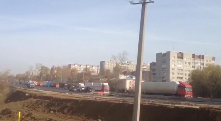 Из-за аварии на «Пекинке» Владимир «покраснел»