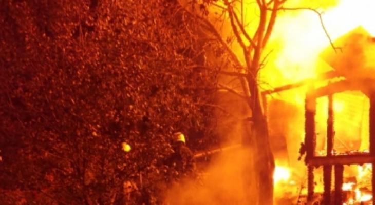 Страшный пожар в Меленковском районе унес жизни целой семьи