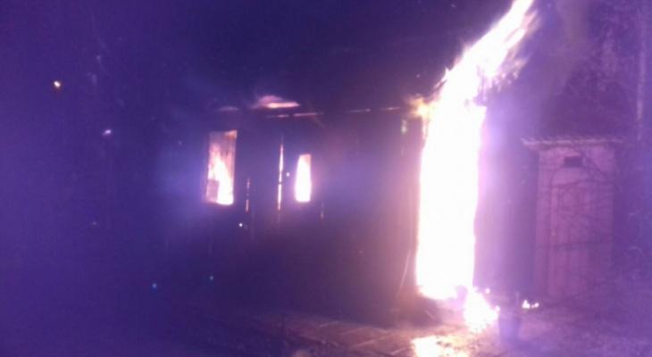 За вечер под Владимиром сгорели четыре бани