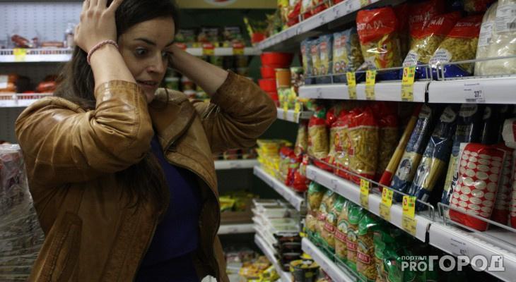 Цены на продукты во Владимирской область вновь скакнули вверх