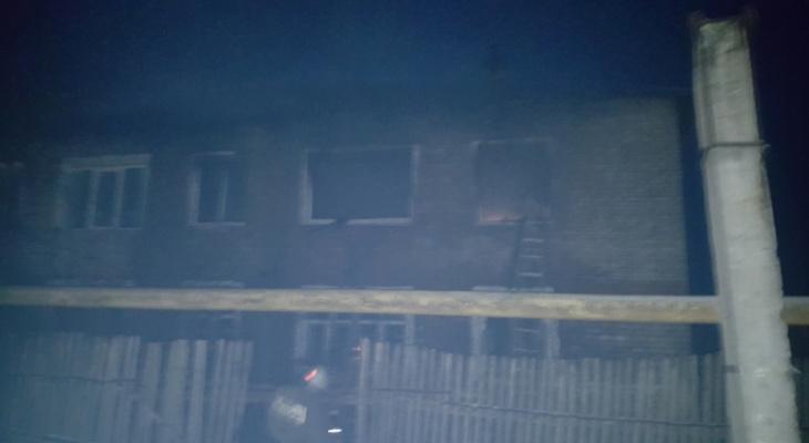 На месте пожара под Судогдой обнаружено тело мужчины
