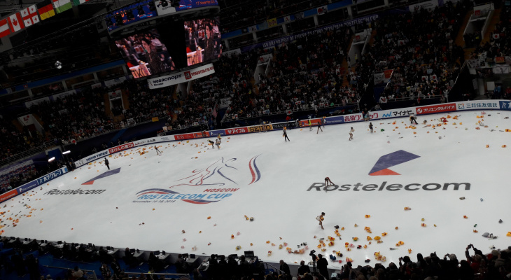 «Ростелеком» пригласил участников «Звездной дорожки» на международный турнир по фигурному катанию