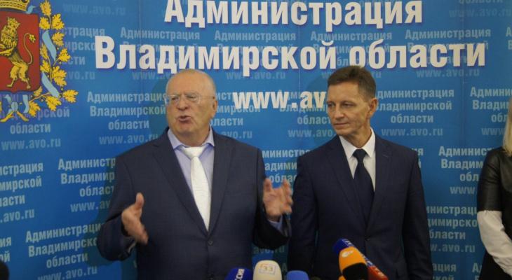Жириновский потребовал прекратить давление на губернатора Сипягина