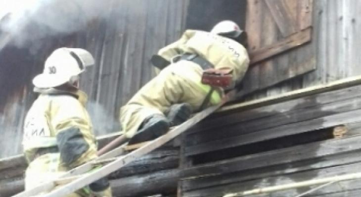 В Курлово на пожаре спасатели обнаружили труп мужчины