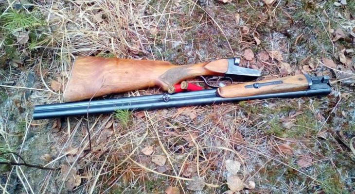 В национальном парке «Мещера» поймали мужчину с ружьем: он шел за клюквой