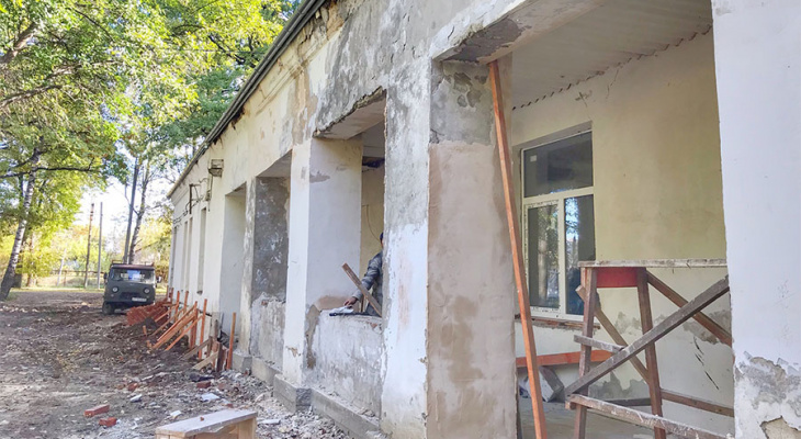 Больницу в Струнино, которую взял на карандаш Путин, почти отремонтировали