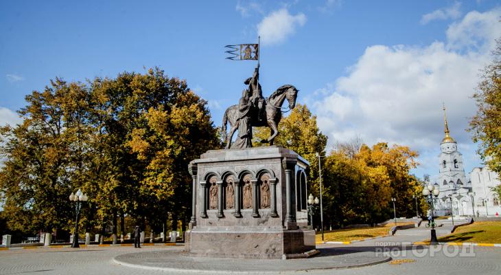 Погода во Владимире и области на 23 ноября