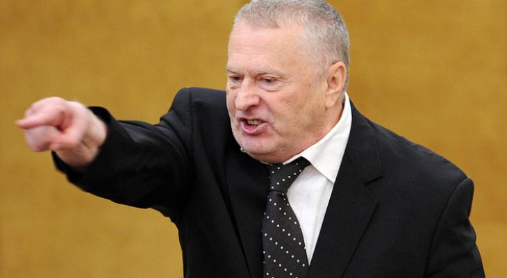 Жириновский оскорбил и унизил владимирских депутатов