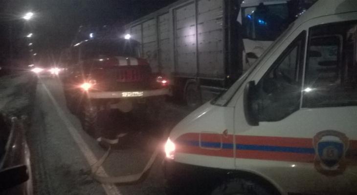 В Собинском районе произошло ДТП, имеется пострадавший
