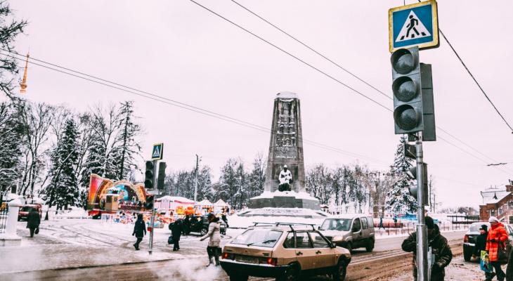 В центре Владимира появился новый светофор: где его установили