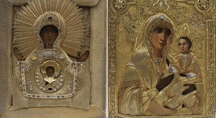 В Суздале представят иконы Божией Матери с драгоценными окладами