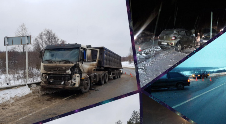 ДТП во Владимирской области за неделю: 51 раненый, 4 погибших