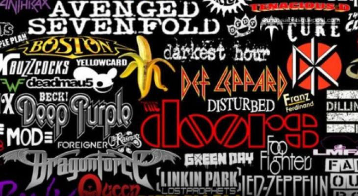 Тест дня: сможете угадать музыкальную группу по её логотипу