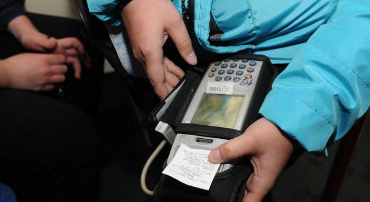 Во Владимирских автобусах проверяют безналичную систему оплаты