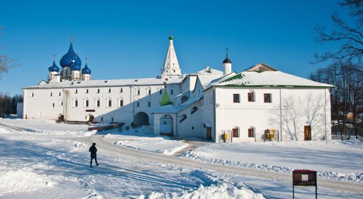 Суздаль стал одним из самых популярных малых городов у туристов в 2018 году
