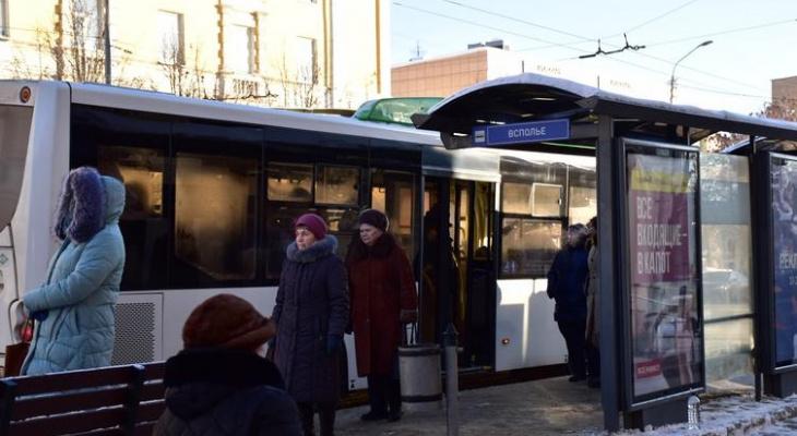 Общественный транспорт Владимира взят под особый контроль из-за морозов