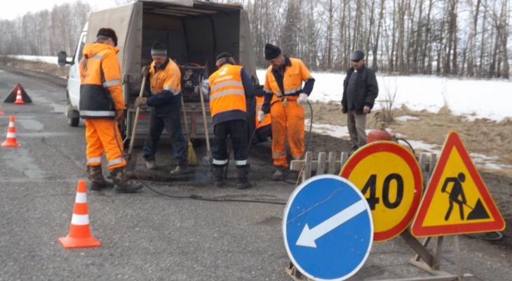 Федеральную трассу в районе Покрова сузят ради проведения ремонта до ноября