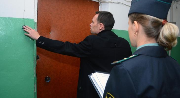 Во Владимире судебные приставы всерьез взялись за должников по ЖКХ