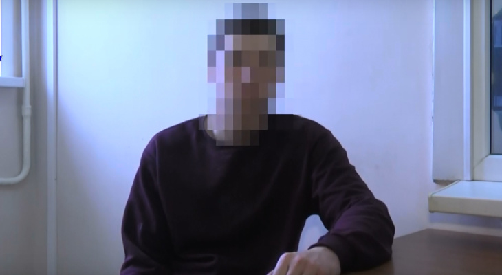 """Допрос лихача протаранившего """"живой щит"""" из машин во Владимире (видео)"""