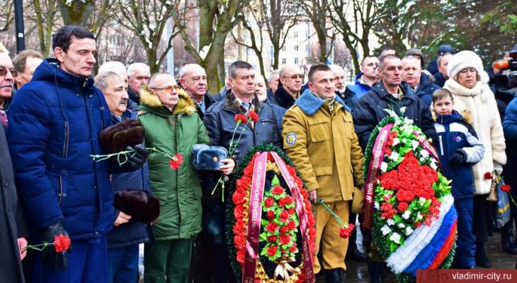 Владимирцы почтили память героев войны в Афганистане