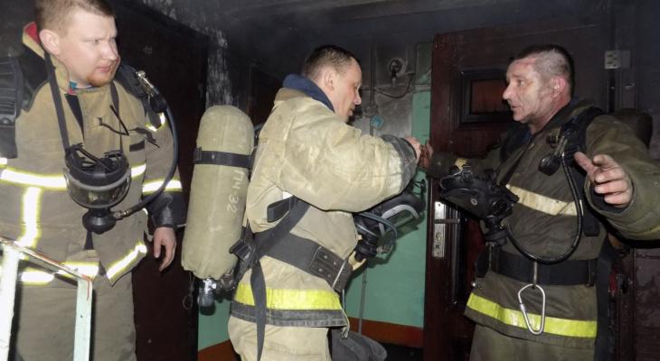 Собинские пожарные спасли двух пожилых женщин