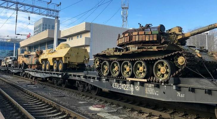 Во Владимир прибудет поезд с военными трофеями из Сирии