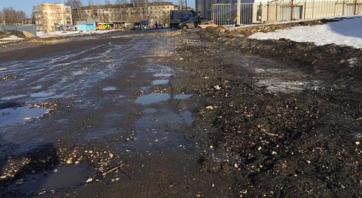 В микрорайоне Юрьевец ремонта дорог не будет