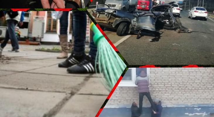 Владимир за день: порванное авто, охранник-детектив и избиение полицейских