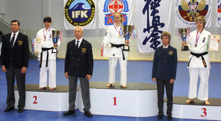 Евгения Кузнецова из Владимира стала чемпионкой России по каратэ