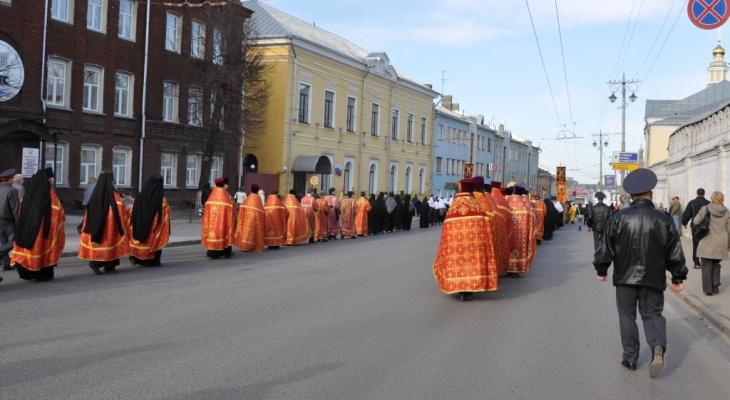 Движение в центре Владимира ограничат ради Крестного хода