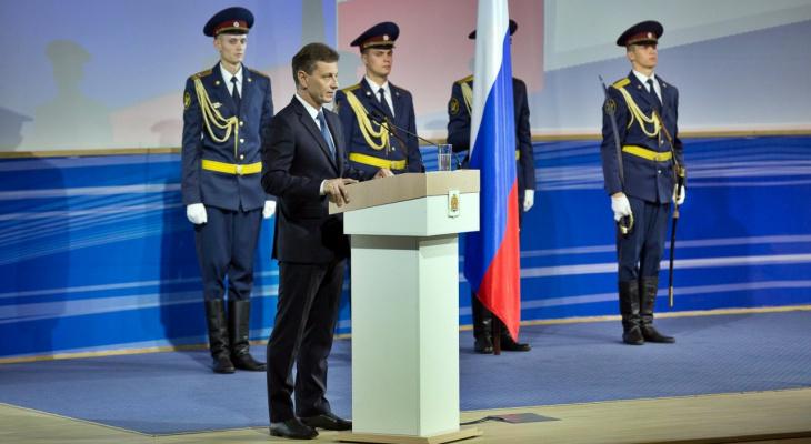 Поздравление руководителей Владимирской области с Днём России