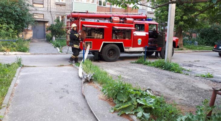 Во Владимире при пожаре погиб человек