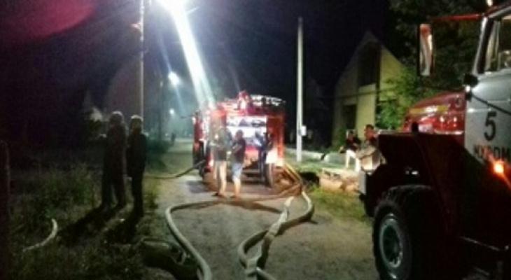 На пожаре в Якиманской слободе обнаружено тело мужчины