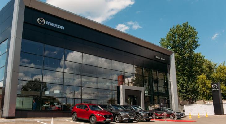 Во Владимире состоялось грандиозное открытие дилерского центра Mazda